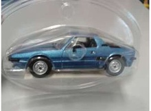 MAGAZINE MODELS 1:43 - FIAT X 1.9 IN BLISTERPACKAGE, BLUE