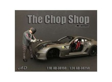 AMERICAN DIORAMA 1:18 - CHOP SHOP SET MR. WELDER