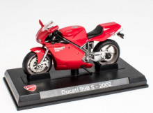 ATLAS 1:24 - DUCATI 998S 136HP 2002, RED