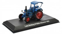 ATLAS 1:43 - LANZ BULLDOG D7506A 1952, BLUE