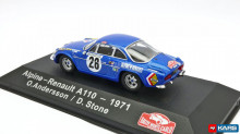 ATLAS 1:43 - RENAULT ALPINE A110 #28 O.ANDERSSON/D.STONE RALLY