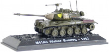 ATLAS 1:72 - M41A3 WALKER BULLDOG 1962