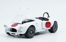 AUTO WORLD 1:18 - SHELBY COBRA 427 S/C 1965, 'ELVIS PRESLEY' #11, WHITE