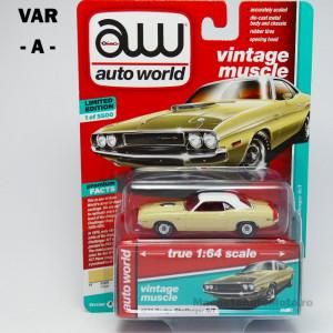 AUTO WORLD 1:64 - AUTOWORLD PREMIUM SERIES - 1 BUCATA (A)