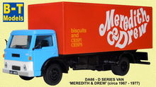 BASE TOYS MODELS 1:76 - D SERIES VAN - MEREDITH & DREW