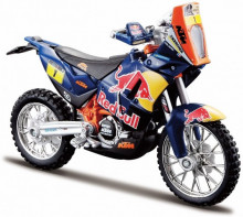 BBURAGO 1:18 - KTM 450 RALLY #1 CYRIL DESIRES DAKAR RALLY 2013