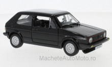 BBURAGO 1:24 - VW GOLF MKI GTI, BLACK
