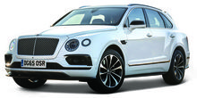BBURAGO 1:43 - BENTLEY BENTAYGA, WHITE