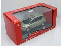 DEALER MODEL 1:43 - SEAT TOLEDO III (2004/2009) *IN SEAT DEALER PACKAGING*, LIGHT GREEN