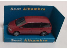 DEALER MODEL 1:87 - SEAT ALHAMBRA, RED