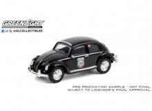 GREENLIGHT 1:64 - CLASSIC VOLKSWAGEN BEETLE #285 *LA CARRERA PANAMERICANA SERIES 3*, BLACK