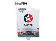 GREENLIGHT 1:64 - DATSUN 510 1971 4-DOOR SEDAN CALTEX WITH TECHRON, GREY/BLACK