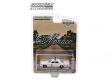 GREENLIGHT 1:64 - DODGE MONACO 1975 HAZZARD COUNTY SHERIFF, WHITE
