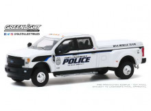 GREENLIGHT 1:64 - FORD F-350 2019 DUALLY FORT LAUDERDALE FLORIDA POLICE DEPARTMENT DIVE TEAM *DUALLY DRIVERS SERIES