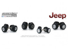 "GREENLIGHT 1:64 - JEEP ""WHEEL & TIRE PACKS SERIES 1"""