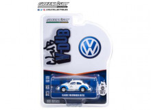 GREENLIGHT 1:64 - VOLKSWAGEN BEETLE CLASSIC ACAPULCO MEXICO TAXI *CLUB VEE-DUB SERIES 12*, WHITE/BLUE