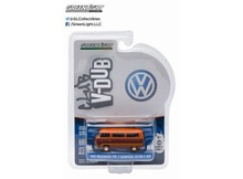 GREENLIGHT 1:64 - VOLKSWAGEN T2 CHAMPAIGN EDITION II 'CLUB VEE-DUB SERIES 2', 2-TONE WITH STRIPES - 1978