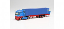 "HERPA 1:87 - Mercedes-Benz Actros container sideloader ""Frankenbach"""