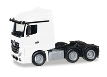 HERPA 1:87 - Mercedes-Benz Actros Streamspace 6x2 rigid tractor, white