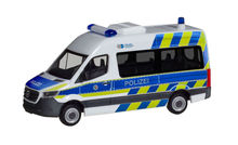HERPA 1:87 - MERCEDES-BENZ SPRINTER BUS HIGH ROOF 'POLICE DEPARTMENT NORTH RHINE-WESTPHALIA'