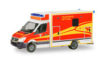 HERPA 1:87 - MERCEDES-BENZ SPRINTER FAHRTEC RTW 'INGOLSTADT FIRE DEPARTMENT'