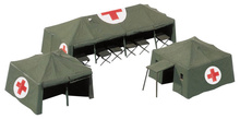 HERPA 1:87 - Military: Accessories medical service tent