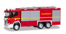 HERPA 1:87 - SCANIA CG 17 EMPL ULF 'FIRE DEPARTMENT'
