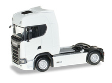 HERPA 1:87 - Scania CS20 HD rigid tractor, white