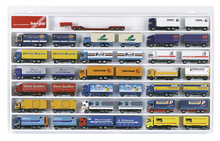 HERPA 1:87 - Showcase for trailer (overlength), white (27.5 in. x 17.7 in. x 1.4 in.)