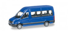 HERPA 1:87 - VW CRAFTER HIGH ROOF, ULTRAMARIN BLUE