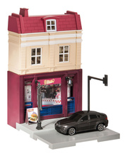 HERPA CITY 1:64 - DONER TAKE AWAY WITH BMW X6 DIE-CAST MODEL