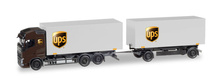 "HERPA1:87 - Volvo FH Gl. interchangeable box trailer ""UPS"""