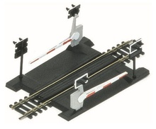 HORNBY 1:87 - SINGLE TRACK LEVEL CROSSING