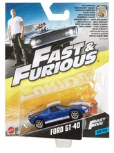 HOTWHEELS 1:55 - FAST & THE FURIOUS CARS - FORD GT-40