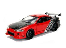 JADA 1:24 - MITSUBISHI ECLIPSE 1995, RED/BLACK/SILVER (#99105)