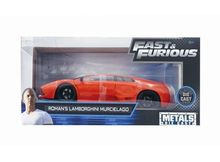 JADA 1:24 - ROMAN'S LAMBORGHINI MURCIALAGO FAST & THE FURIOUS, ORANGE