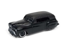 JOHNNY LIGHTNING 1:64 - BARRIS PHAETON 'JOHNNY LIGHTNING STREET FREAKS', MATT BLACK/GLOSS BLACK FLAMES