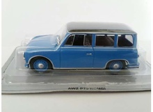 MAGAZINE MODELS 1:43 - AWZ P70 KOMBI *POLISH CARS*, BLUE/BLACK