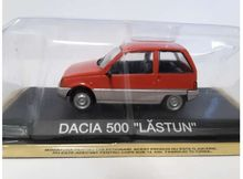 MAGAZINE MODELS 1:43 - DACIA 500 LASTUN 'LEGENDARY CARS' ORANGE/SILVER