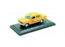 MAGAZINE MODELS 1:43 - FIAT 125P 1980 *WARSAW TAXI*, YELLOW