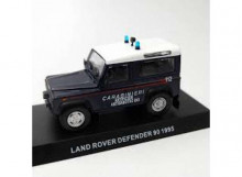 MAGAZINE MODELS 1:43 - LAND ROVER DEFENDER 90 1995 ANTISABOTAGGIO, BLUE