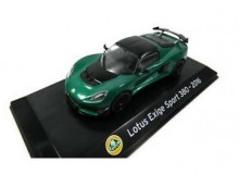 MAGAZINE MODELS 1:43 - LOTUS EXIGE SPORT 380 2016, GREEN/BLACK