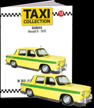 MAGAZINE MODELS 1:43 - RENAULT 8 - BAMAKO 1970, TAXI OF THE WORLD - CENTAURIA