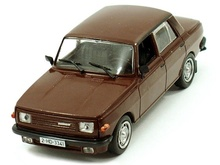 MAGAZINE MODELS 1:43 - WARTBURG 353 'LEGENDARY CARS' BROWN