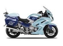 MAISTO 1:18 - YAMAHA FJR 1300A STATE POLICE AUTHORITY, LIGHT BLUE