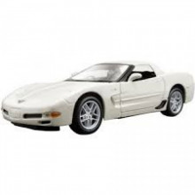 MAISTO 1:24 - CHEVROLET CORVETTE Z06 2008, WHITE