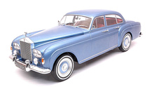 MODEL CAR GROUP 1:18 - ROLLS ROYCE SILVER CLOUD III FLYING 1963, LIGHT BLUE METALLIC