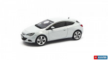 MOTORART 1:43 - OPEL ASTRA J GTC 2019 IN OPEL DEALER PACKAGING, WHITE #4300865