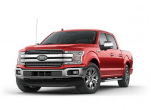 MOTORMAX 1:27 - FORD F-150 LARIAT CREW CAB 2019, RACE RED