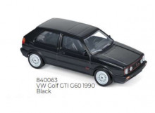 NOREV 1:43 - VOLKSWAGEN GOLF GTI 1990 G60 JET CAR, BLACK